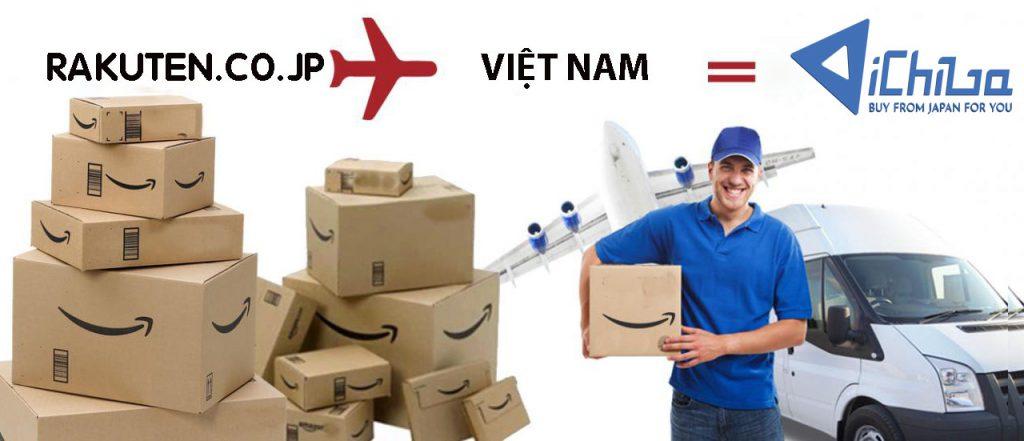 ichiba ship hàng Rakuten về Việt Namm